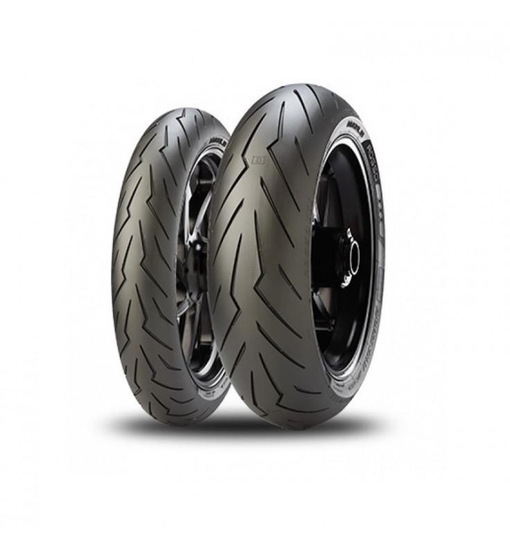 Neumáticos MICHELIN POWER CUP EVO 120/70/17-200/55/17